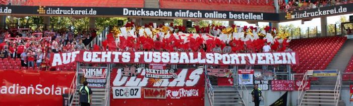08. Spieltag: 1.FC Nürnberg - 1.FSV Mainz 05