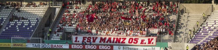1. Runde DFB–Pokal: FC Erzgebirge Aue – 1.FSV Mainz 05
