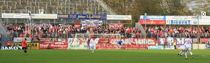 11. Spieltag: Rot-Weiss Ahlen - 1.FSV Mainz 05