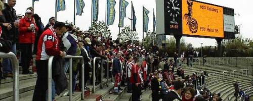 12. Spieltag: MSV Duisburg - 1.FSV Mainz 05