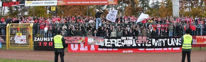 12. Spieltag: SC Paderborn 07 - 1.FSV Mainz 05