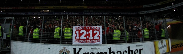 14. Spieltag: SG Eintracht Frankfurt - 1.FSV Mainz 05