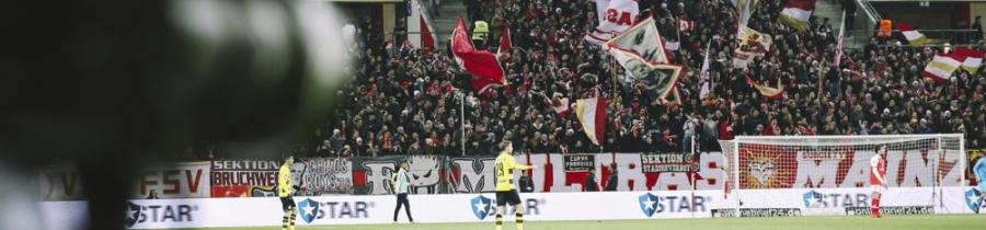 16. Spieltag: 1.FSV Mainz 05 – BV Borussia Dortmund