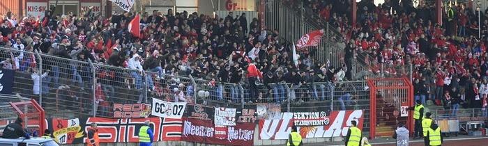 17. Spieltag: SC Rot-Weiß Oberhausen - 1.FSV Mainz 05