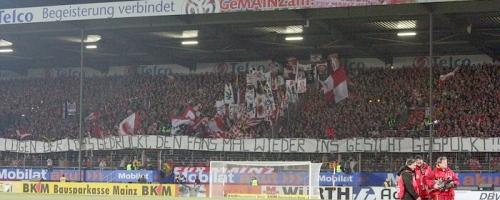 20. Spieltag: 1.FSV Mainz 05 - DSC Arminia Bielefeld