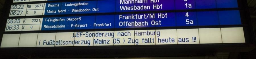 25. Spieltag: Hamburger SV – 1.FSV Mainz 05