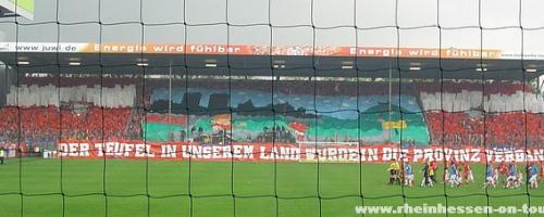 33. Spieltag: 1.FSV Mainz 05 - 1.FC Kaiserslautern