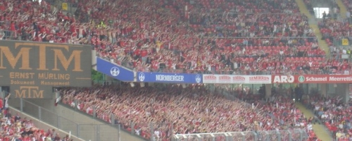 34. Spieltag: 1.FC Nürnberg - 1.FSV Mainz 05