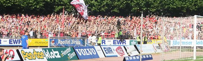DFB-Pokal 1. Runde: VfR Wormatia Worms - 1.FSV Mainz 05