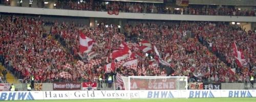 UEFA-Cup 1. Runde: 1.FSV Mainz 05 - Sevilla FC