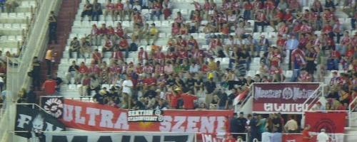 UEFA-Cup 1. Runde: Sevilla FC - 1.FSV Mainz 05
